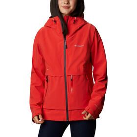 Columbia Beacon Trail Jacket Women, bold orange